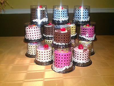 Cake Towel Favors -  Box of 16 Assorted Colors - Free UPS Ground Shipping - Cake Favor Boxes
