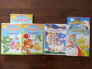 Care Bears Care A Lot Collection & Movies LOWER PRICE