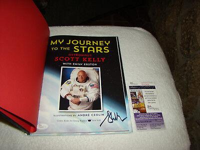 Scott Kelly Signed 1st ED HB Book My Journey To The Stars JSA #T41933