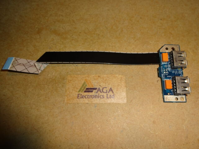 Toshiba Satellite Pro A200 Laptop USB Board & Cable. LS-3484P