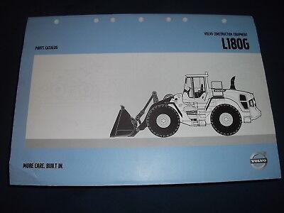 Volvo L180g Wheel Loader Parts Manual Book Catalog