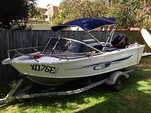 2007 Alley Craft 4.10 Scout with 2009 40HP Tohatsu engine Coolangatta Gold Coast South Preview