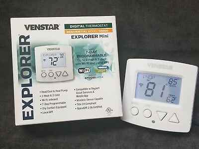 Venstar 7-Day Dry Contact Com Tstat /& Comfort Call ~Discount HVAC~T2900//ACC0433