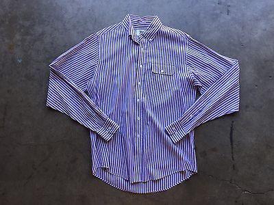 Gant by Michael Bastian Striped Shirt sz Large Red Blue White