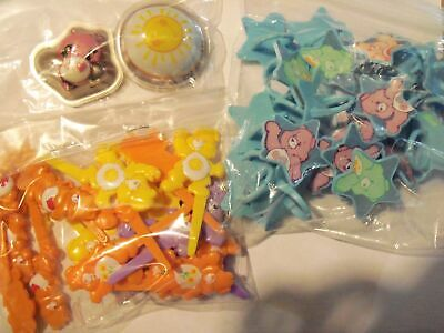 Care Bear Cakes - Care bear Cupcake Rings or Picks or Pop Toppers Cake Decorations Party