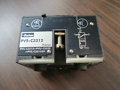Parker Pvs-c3312 Three Way Valve