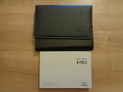 Hyundai I40 Owners Handbook/Manual and Wallet 15-17