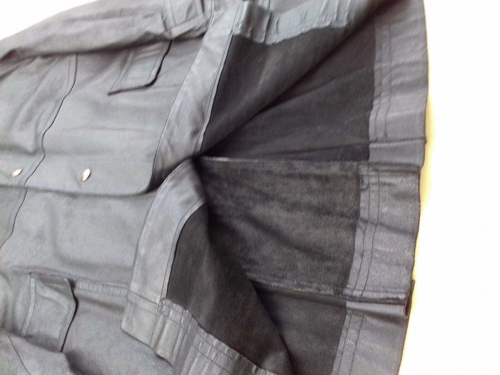 Manteau  hermes cuir taille 52