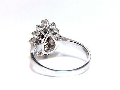GIA Certified 1.47ct Natural Fancy Orange Brown Diamond Halo Ring  14 Karat 3