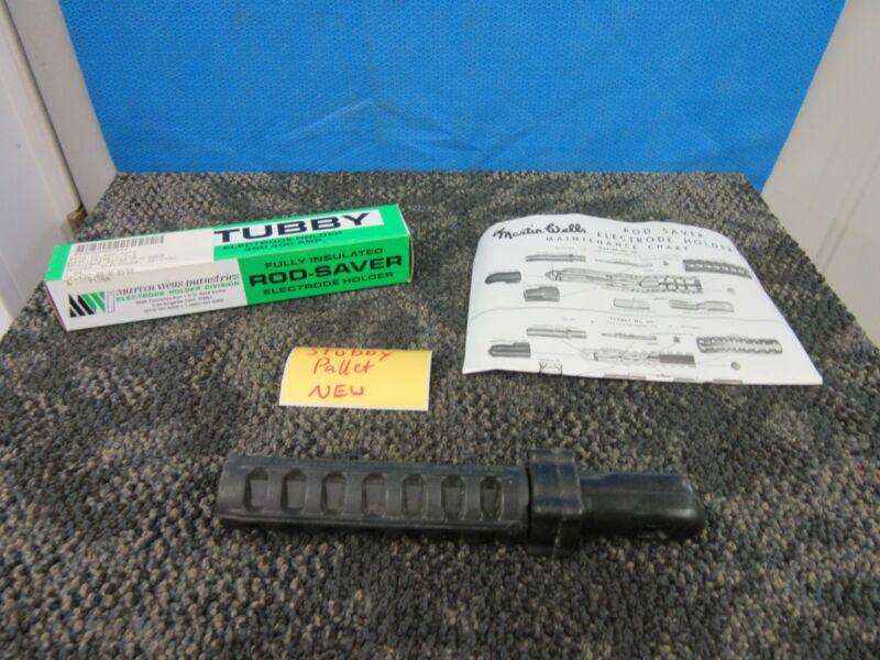 Martin Wells Welding Electrode Holder Rod-Saver Stubby 3HC-9 300-400 AMP A New