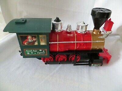 LOCOMOTIVE from North Pole Express Christmas Train Set EZTEC 37198 G - NO REMOTE