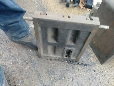 Cast Iron T-slot Plate From Tilt Table 10x13