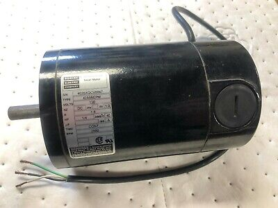 New Bodine Electric 14 Hp Small Dc Motor Type 42a5bepm 1.8a 130v 2500rpm