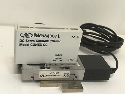New Newport Motorized Linear Stage Mfa-cc Integrated With Conex-cc Controller
