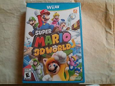 Super Mario 3D World  Nintendo Wii U  2013 Brand New