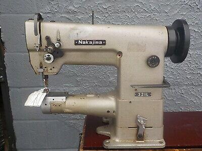 Industrial Sewing Machine Model Nakajima 321 Cylinder Leather