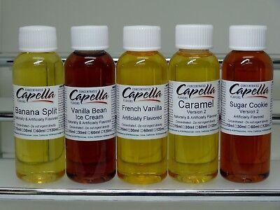 (Capella Flavor Drops   -  Bubble Gum,Candy,Chocolates   15 ml & 60 ml)