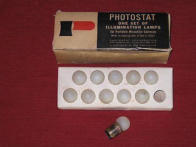 Vintage Photostat Portable Microfilm Camera Illum Lamps 11 - Nosorig Bx