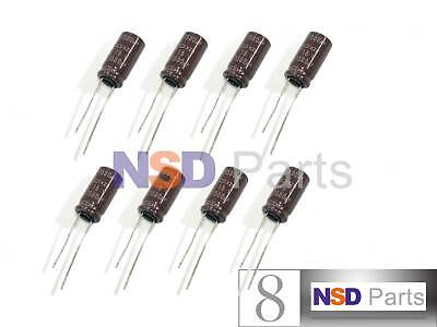 8pcs Nippon Chemi-con Kzh 1500uf 16v 105c Radial Electrolytic Capacitor