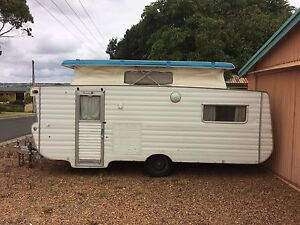 1980 Viscount bunk caravan 17 1/2 ft poptop Port Lincoln Port Lincoln Area Preview