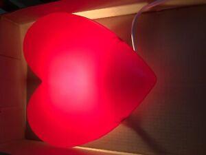 IKEA Heart wall lamp