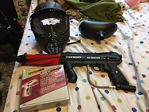 Paintball gear reduced