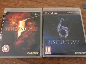 Resident Evil 5+6, Infamous 2 PS3