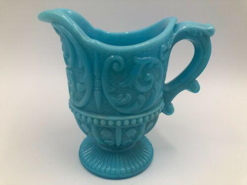 Portieux Vallerysthal Louis XV Blue Creamer