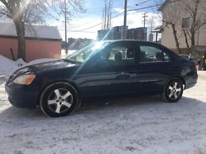 2003 Honda Civic Sport 5-speed Manual