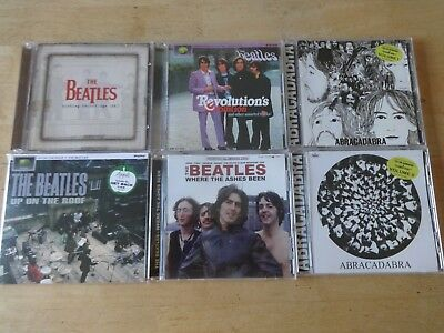 beatles 6 cd lot sale get back abracadabras revolution collection