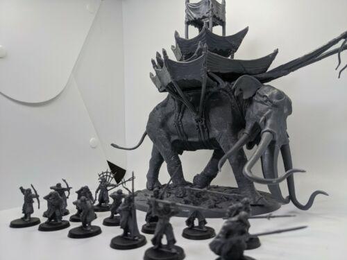 War Mûmak (Mumak) of Harad - The Hobbit Lord of the Rings Games Workshop