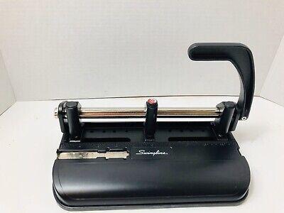 Swingline 2 Or 3 Hole Model 350400 Heavy Duty Paper Hole Punch