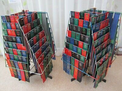 1058 Personalised Real Leather Bookmarks + 76 without names + 2 display stands