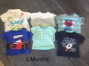 3 Month Boys t-shirt Lot