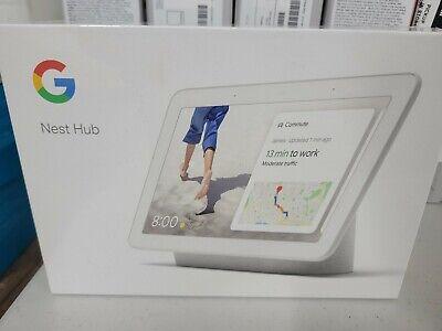 Google Home Nest Hub with Google Assistant Chalk - GA00516-US - New & Sealed