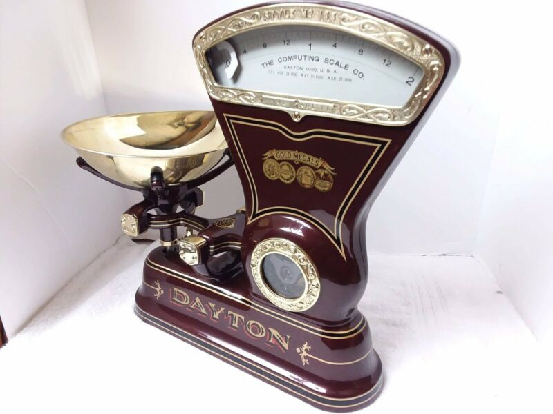 We Custom Restore Cast Iron Antique Dayton Candy/ Mercantile Scale For You.