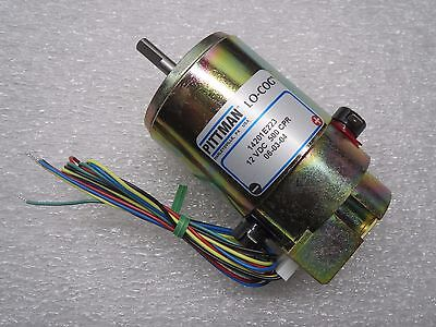 Pittman Lo-cog 12vdc 500 Cpr Motor 14201e223 Made In Usa New