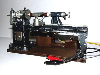 Drehbank Dampfmaschine,Antriebsmodell,und 12V Antr.ehem. DDR Modell, sehr selten