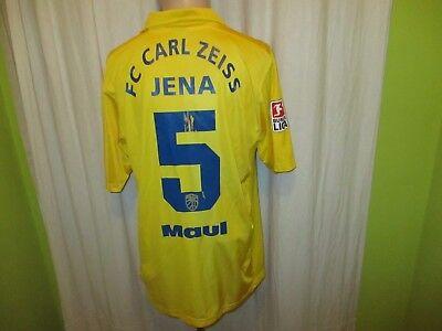 FC Carl Zeiss Jena Nike Matchworn Trikot 2006/07 + Nr.2 Maul + Signiert Gr.L image