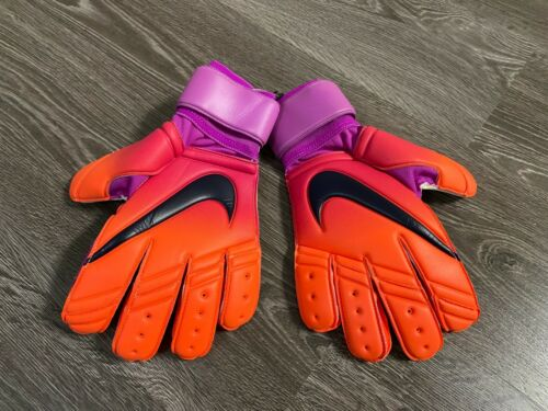 Nike Premier SGT Promo Soccer Goalkeeper Gloves Size 10 Purple PGS221-860 NEW