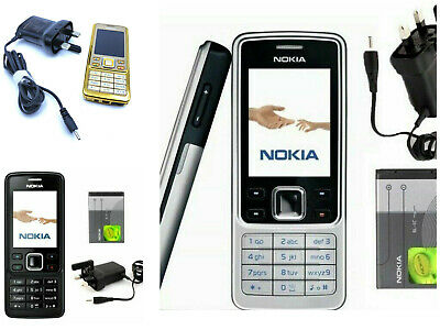 Nokia 6300 Classic Silver/ Black/ Gold - 12 months GUARANTEE- Solid phone