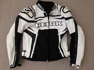 Berik Leather Protector Motorbike Jacket Richmond Hawkesbury Area Preview
