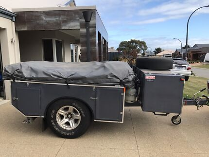 2016 built  Off-road camper trailer