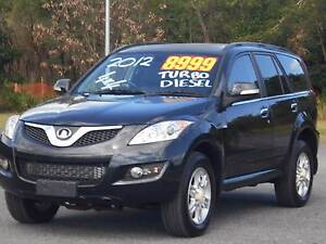 2012 Great Wall X200 TURBO DIESEL 4WD Bungalow Cairns City Preview