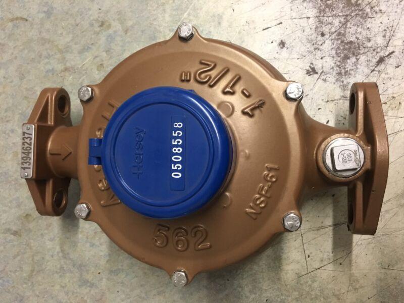 "Hersey 11/2"" 562 Water Meter Direct Reading NSF61"