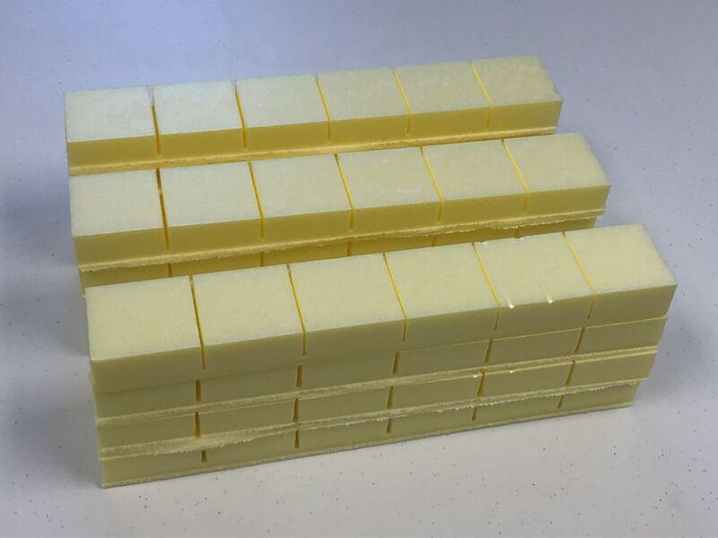 Carpet Cleaning & Restoration Foam Furniture Snap Blocks. 72 Count. Hi-Density