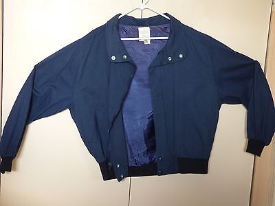 Embroidered 50th Anniversary Wizard of Oz Blue Jacket Size XL ()