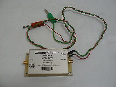 Mini Circuits Zrl-2300 Rf Amplifier 1400-2300 Mhz