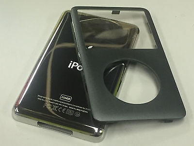 New iPod 6th 7th Gen Classic Charcoal Front Faceplate 256GB Back Cover Housing, used for sale  Uxbridge
