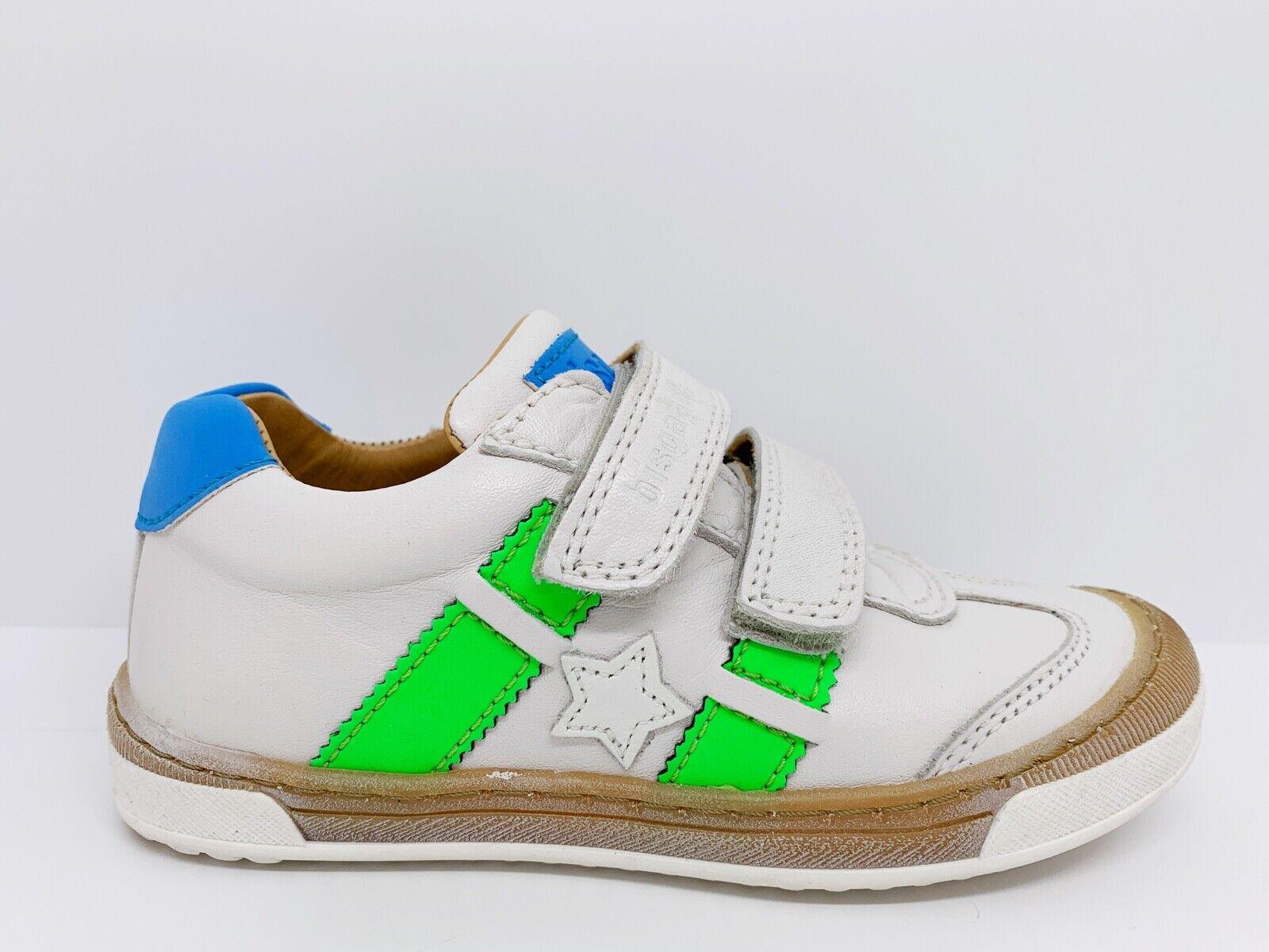 Bisgaard Sneaker, Gr. 29, 30, 32, 34, 35, weiß, grün, NEU, NP ab 94,90 €